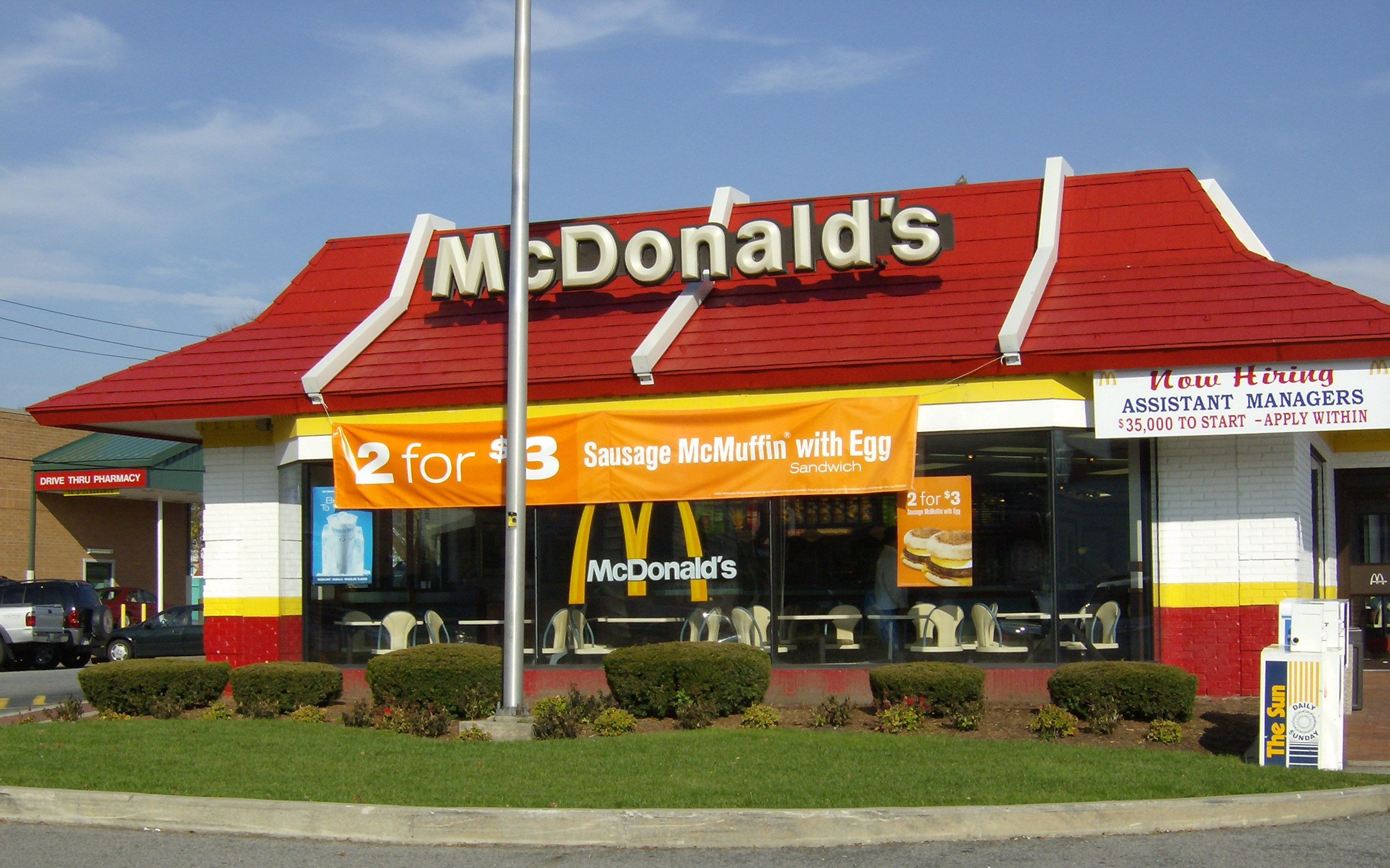Mc Donald's conseille à ses employés de ne pas manger… au fast-food