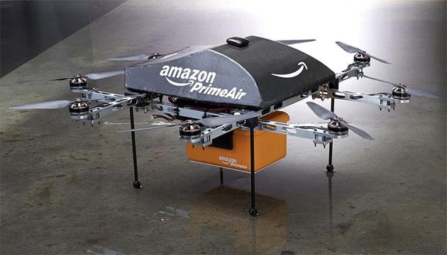 Amazon veut un couloir aérien pour ses drones de livraison