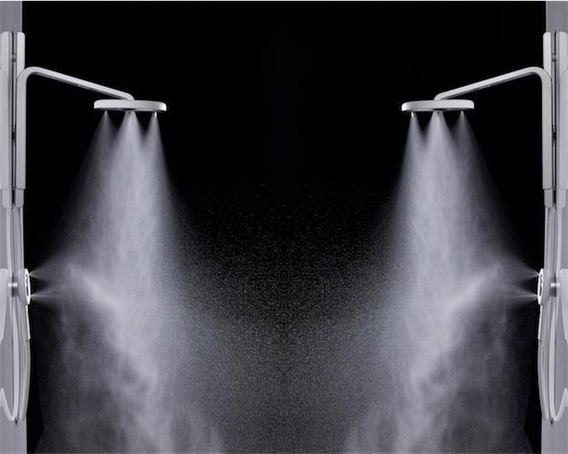 Un pommeau de douche innovant pour conomiser 70 d 39 eau - Pommeau de douche radio ...