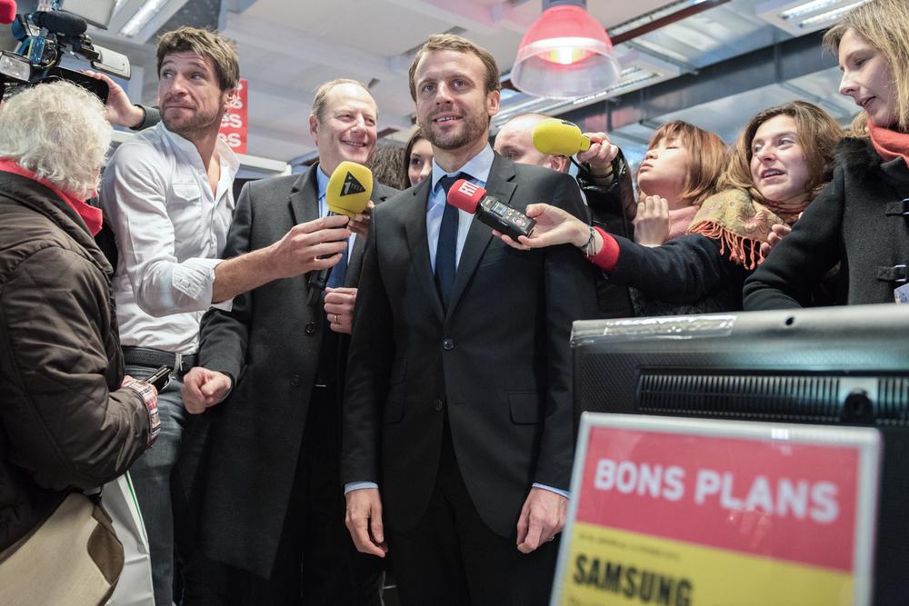 © Shutterstock/Emmanuel Macron