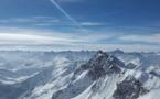 De la neige en France pendant les vacances d'hiver