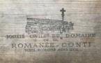 Une bouteille de Romanée-Conti vendue 482.000 euros aux enchères