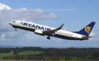 Ryanair va supprimer 900 postes
