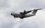 Le premier avion de transport de troupes A400M livré à la France aujourd'hui