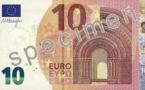 Un nouveau billet de 10 euros durable et sécurisé