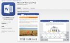 Office pour iPad : le premier lancement de produit du nouveau patron de Microsoft