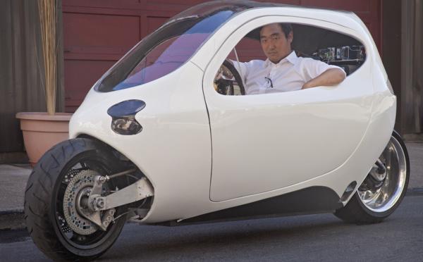 Projet hybride C1 de Lit Motors : de quoi réconcilier automobilistes et motards ?
