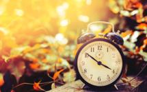 Vers la fin du changement d'heure