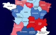 Les régions passeront de 22 à 14