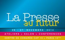 Le salon La Presse au Futur ouvrira ses portes les 26 et 27 novembre 2014