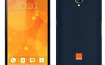 Orange présente un smartphone sous sa marque
