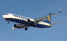 Ryanair : les prix des billets en baisse