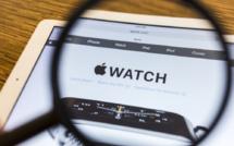 Les commandes d'AppleWatch en forte baisse
