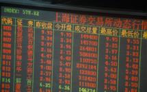 Les Bourses chinoises perdent pied