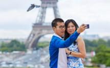 Les chinois étaient 49 % de plus à Paris cet été