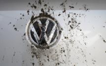 Volkswagen dans le rouge