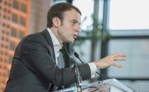 Emmanuel Macron se veut confiant dans l'économie