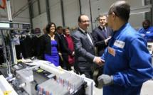 François Hollande en visite chez Forsee Power : « innover dans tous les domaines, condition de la croissance »